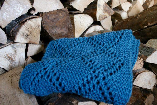 gestrickter Schal