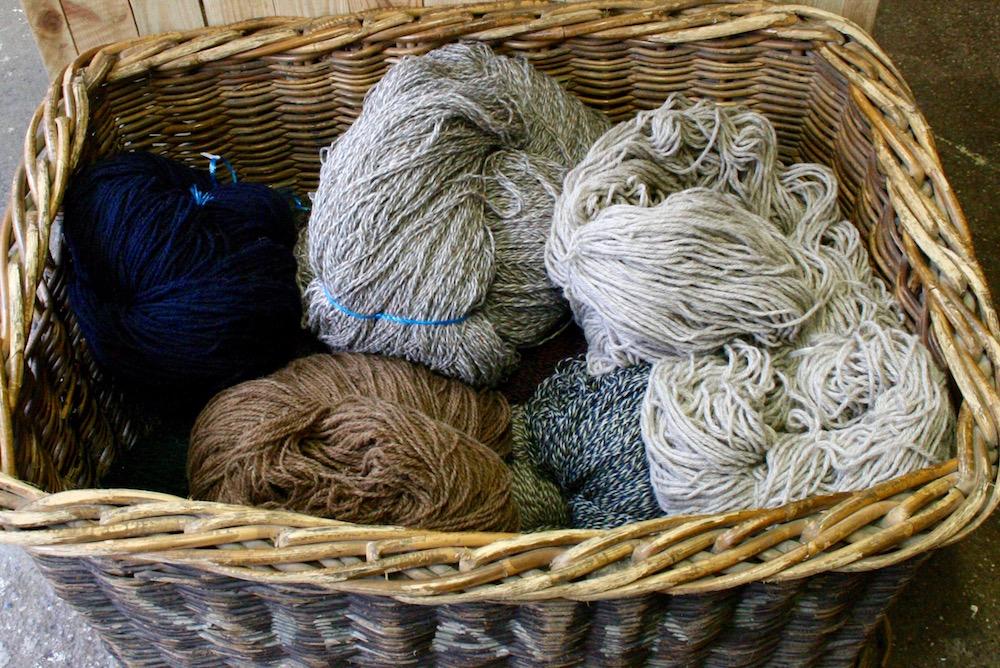 Wolle aus New Lanark
