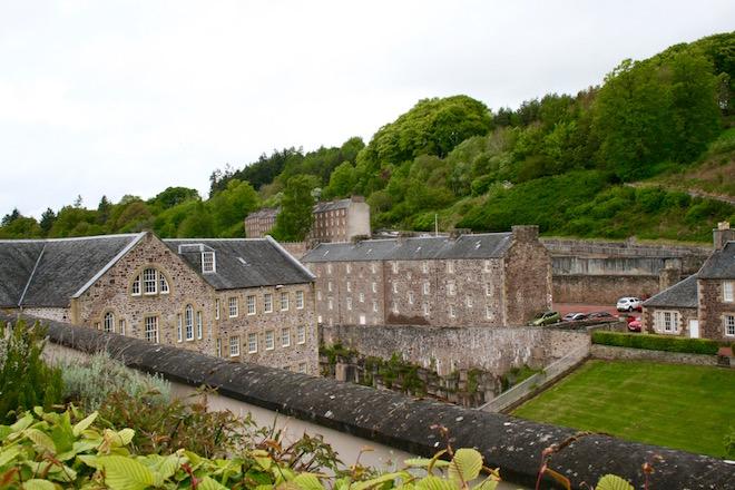 New Lanark Mill - Foto Sabine Frisch