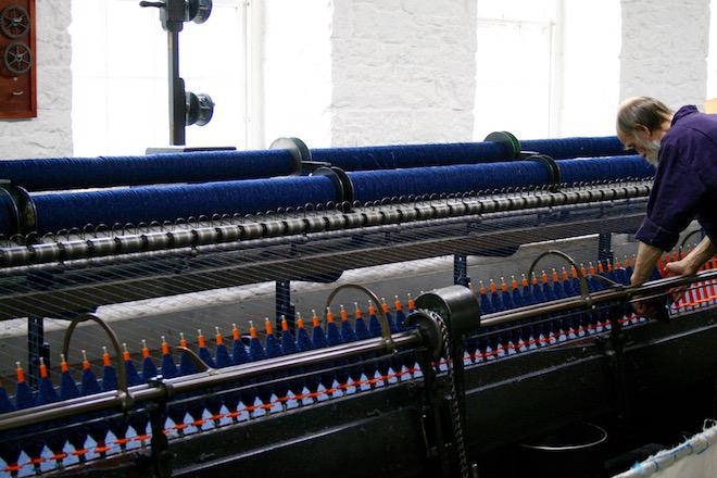 New Lanark Mill - Bild: Sabine Frisch
