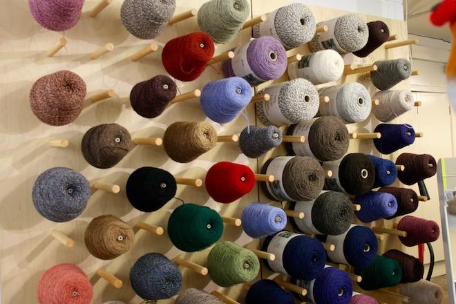 Yarn Cones New Lanark - Foto: Sabine Frisch