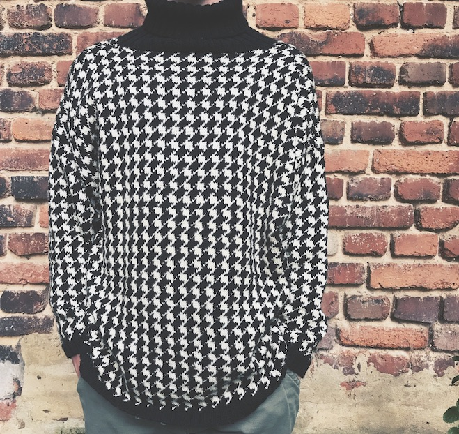 Houndstooth Knitwear